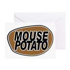 mouse_potato_for_CP Greeting Card