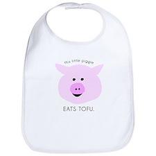 Pink Tofu Piggie Bib