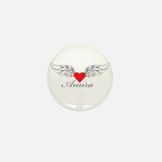 Angel Wings Amira Mini Button