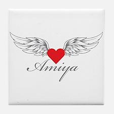 Angel Wings Amiya Tile Coaster
