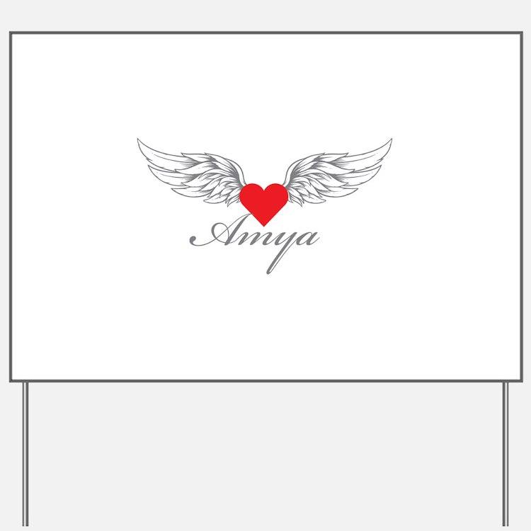 Angel Wings Amya Yard Sign