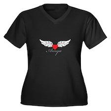 Angel Wings Amya Plus Size T-Shirt