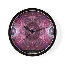 fractal_mathematics_math Wall Clock