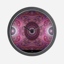 fractal_mathematics_math Wall Clock