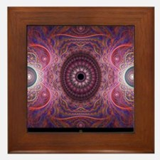 fractal_mathematics_math Framed Tile