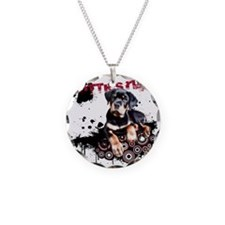 Puppy Rottweiler Necklace