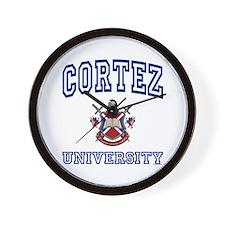 CORTEZ University Wall Clock