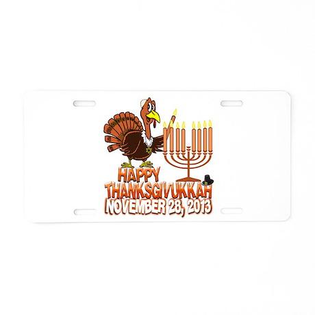 Happy Thanksgivukkah Thankgiving Hanukkah Aluminum