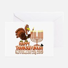 Happy Thanksgivukkah Thankgiving Hanukkah Greeting
