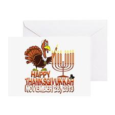 Happy Thanksgivukkah Thankgiving Hanukkah Greeting
