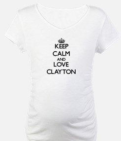 Keep Calm and Love Clayton Shirt