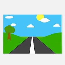 open road to success peace joy c Postcards (Packag