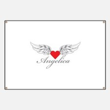Angel Wings Angelica Banner