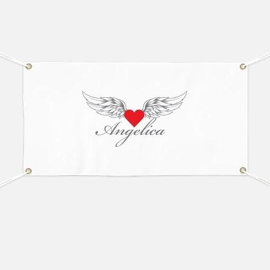 Angel Wings Angelica Banner