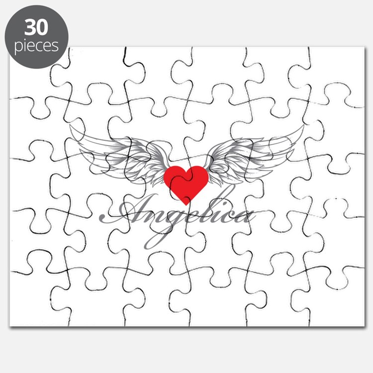 Angel Wings Angelica Puzzle