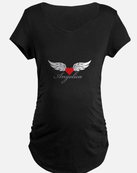 Angel Wings Angelica Maternity T-Shirt