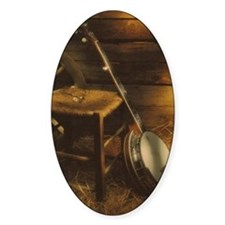 Banjo Picture Larger Decal
