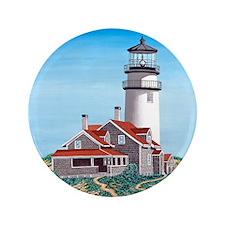 """Cape Cod Light mp 3.5"""" Button"""