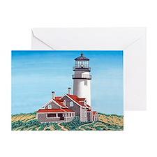 Cape Cod Light mp Greeting Card