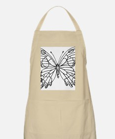 butterfly coloring Apron