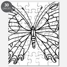 butterfly coloring Puzzle