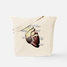 Heart Door Tote Bag