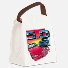 Mustang% Canvas Lunch Bag