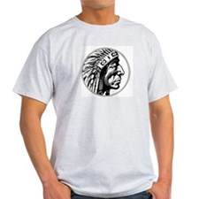 Indian Head Ash Grey T-Shirt