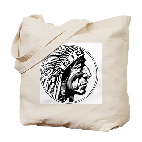 Indian Head Tote Bag