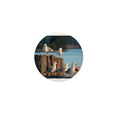 Seagulls Mini Button
