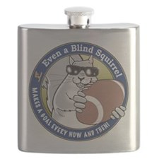Football Blind Squirrel Flask