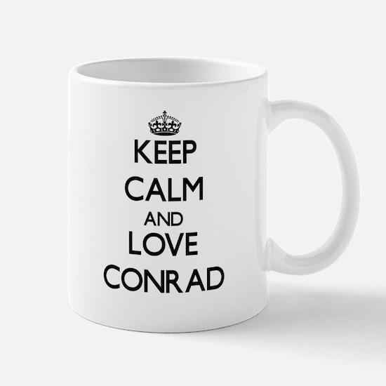 Keep Calm and Love Conrad Mugs