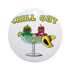 Chill Out Cocktail Ornament (Round)