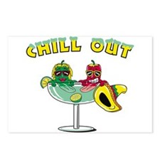Chill Out Cocktail Postcards (Package of 8)
