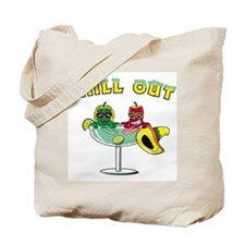 Chill Out Cocktail Tote Bag