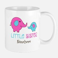 Little Sister Elephant Personalized Mug