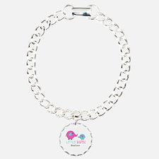 Little Sister Elephant Personalized Bracelet