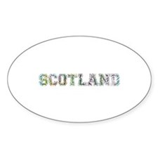 Scotland text Decal