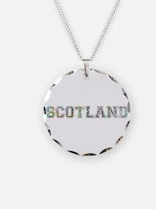 Scotland text Necklace
