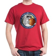 Basketball Blind Squirrel T-Shirt