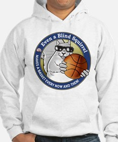 Basketball Blind Squirrel Hoodie