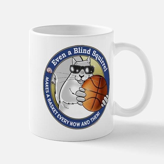 Basketball Blind Squirrel Mug
