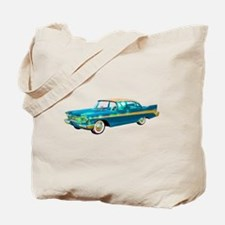 1957 Plymouth Belvedere Tote Bag