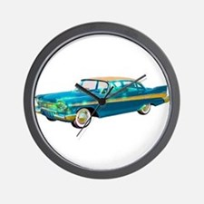 1957 Plymouth Belvedere Wall Clock