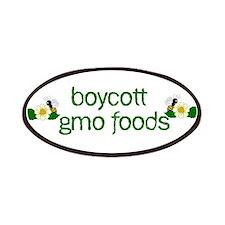 Boycott GMO Foods Patches