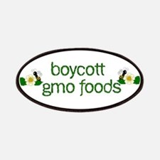 Boycott GMO Foods Patches