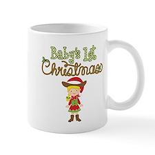 1st Christmas Cowgirl Mug