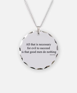 All that is necessary Necklace
