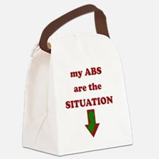 absrsituation Canvas Lunch Bag