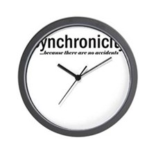 Synchronicity no accidents up Wall Clock